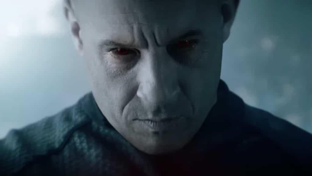 Vin Diesel with Red Eyes