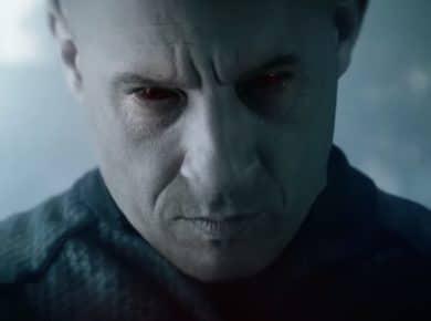 Vin Diesel red blooshot eyes
