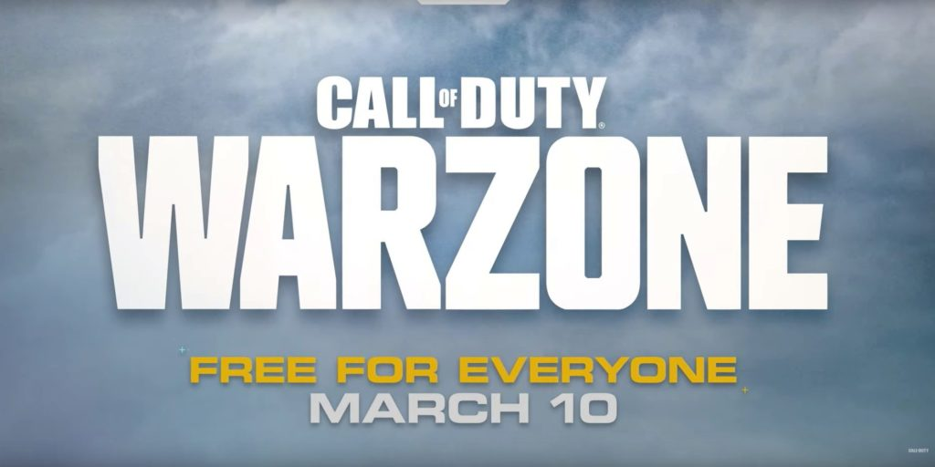 call of duty warzone free-to-play